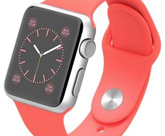 Apple Watch Sport 38mm pink