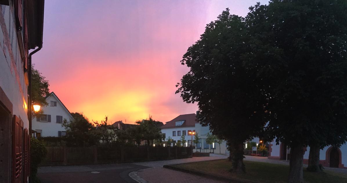 Neuhausen at dawn